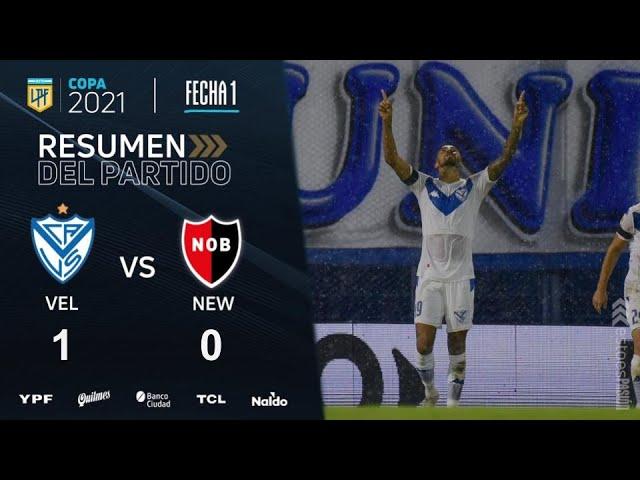 Copa De La Liga | Fecha 1 | resumen de Vélez - Newell's
