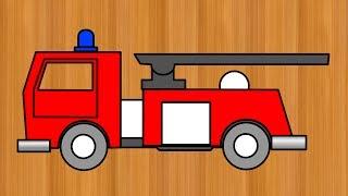 """Santa's Workshop """"fire truck"""" L'atelier de Noël """"camion de pompier"""""""