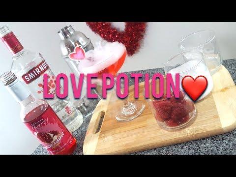 Valentine Inspired Love Potion Drink