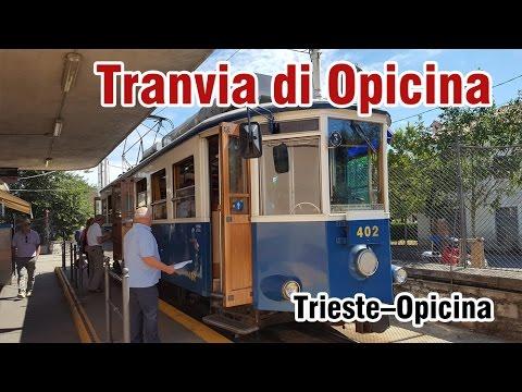 Tram de Opicina (Italy) - rear view footage