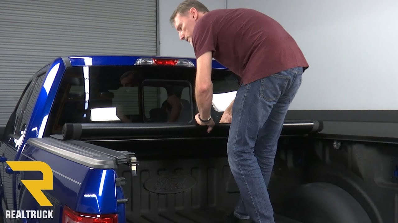 How To Install Truxedo Prox15 Tonneau Cover On A 2017 Ford F 150 Youtube
