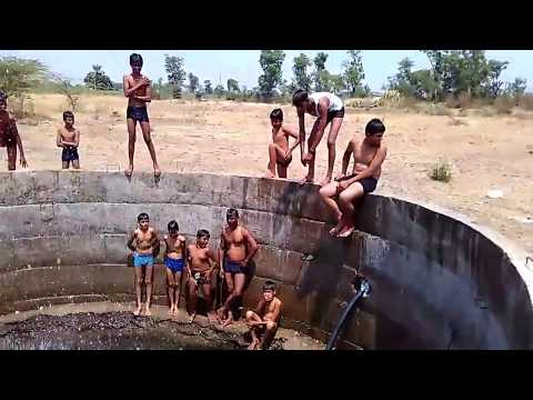 Swimming Training Frist Kids in well jumps In India
