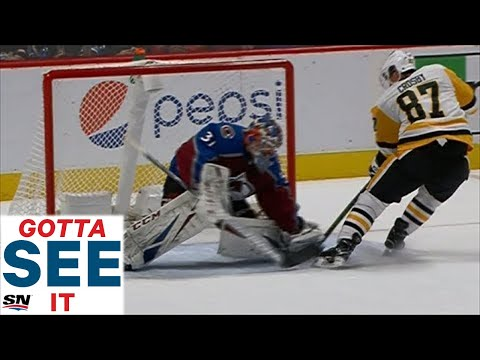 Crosby Scores Twice For Penguins In Under A Minute Vs. Avalanche