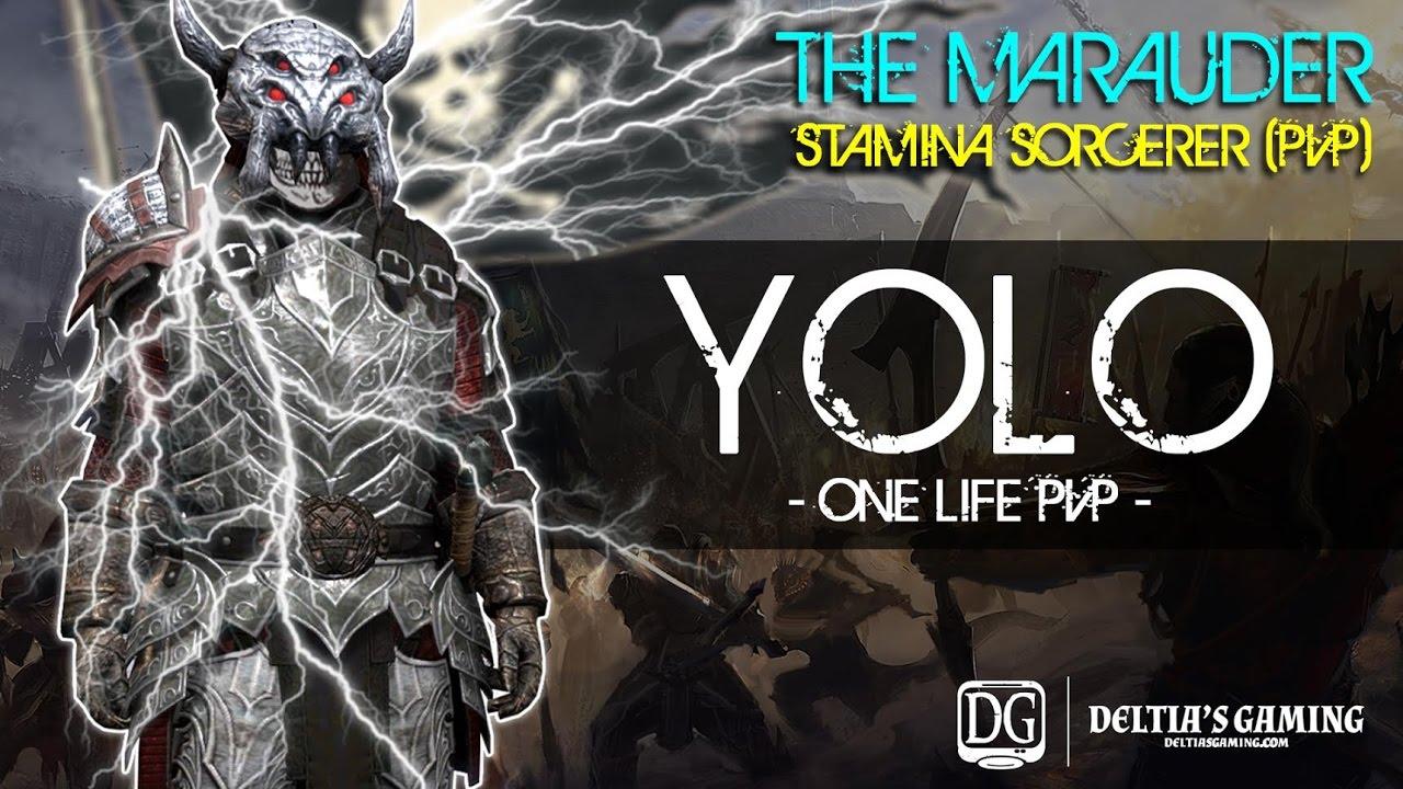 ESO Stamina Sorcerer PvP Build - Deltia's Gaming