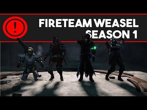 Fireteam Weasel Season One (Destiny Machinima)