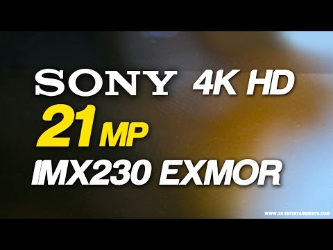Sony's IMX230 EXMOR RS - 21MP  4K HD Video Recording : Sony Xperia smartphone