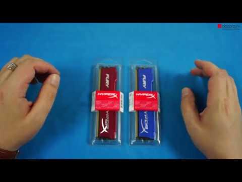 Оперативная память Kingston DDR3 4Gb HyperX Fury Blue (HX316C10F/4) Red
