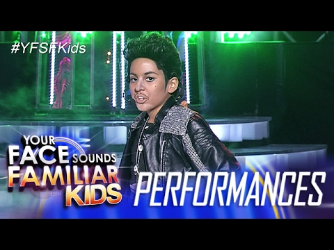 Your Face Sounds Familiar Kids: Sam Shoaf as Prince - Kiss