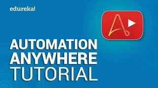 RPA Automation Anywhere Tutorial | Extracting Data From PDF | RPA Training | Edureka