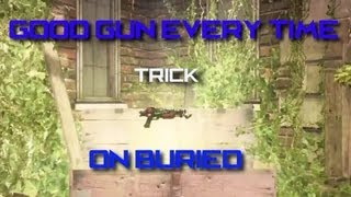"""Buried"" Trick - How to get a Good Gun From the Mystery Box (Black Ops 2 Zombies)"
