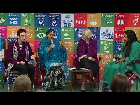 Women Leaders of the United Nations, SDG Media Zone - ECOSOC Youth Forum 2018