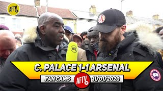 Crystal Palace 1-1 Arsenal | It Was A Red Card & Poor Tackle From Aubameyang (Turkish)
