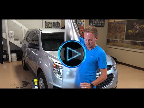 How to Install Computer Cut Paint Protection Film Kit