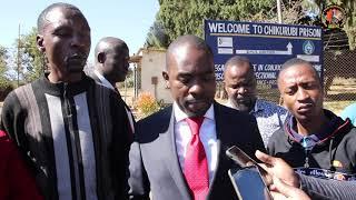 President Chamisa visits Chikurubi maximum prison