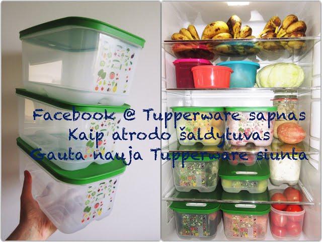 #unbox - Tupperware siunta NR. 3 / ką gavome / kaip atrodo tvarkingas šaldytuvas / Vegan Pipiras