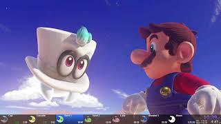 Super Mario Odyssey - World Peace Speedrun in 1:21:00 [World Record]
