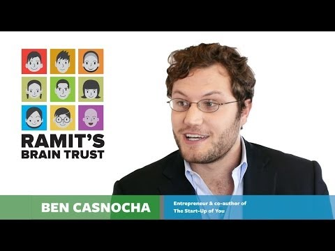 How career builders choose the right path: With Ben Casnocha