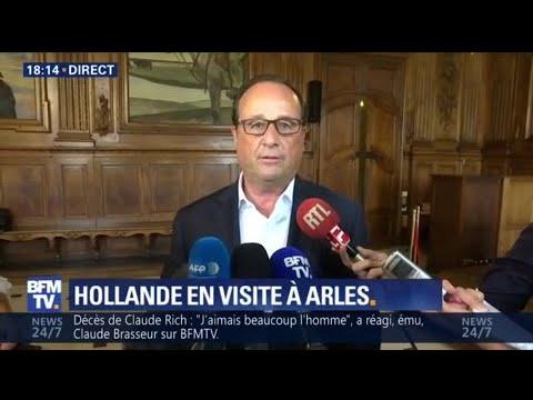 """Hollande sur la """"réserve"""" pour laisser à son successeur """"la liberté de trouver son style"""""""