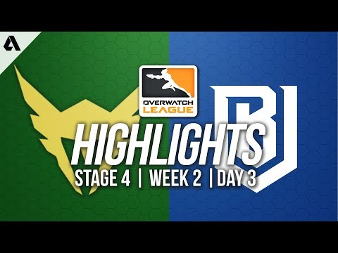 Los Angeles Valiant vs Boston Uprising | Overwatch League Highlights OWL Stage 4 Week 2 Day 3