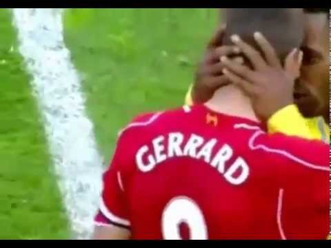 Steven Gerrard end the last Game at Anfield ~ Liverpool vs Crystal Palace 1-3 ~ 16/05/2015