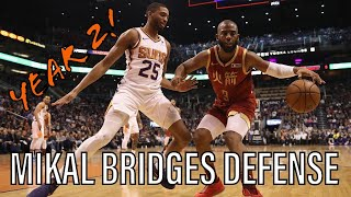 8 More Minutes of Mikal Bridges Playing Defense - Year 2