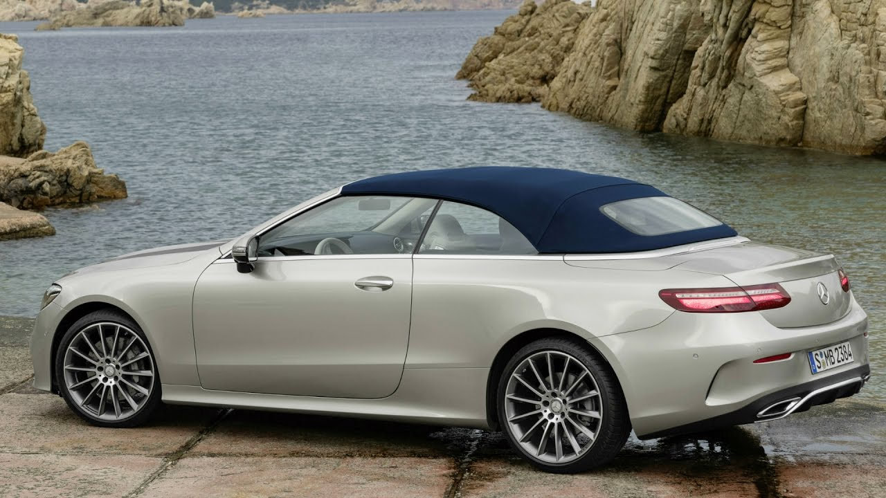 2017 Mercedes E Cl Cabriolet Amg Line Sophisticated Style And Sporty Luxury