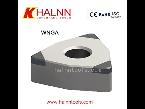 Rough Machining high chromium cast iron with Halnn Solid CBN insert
