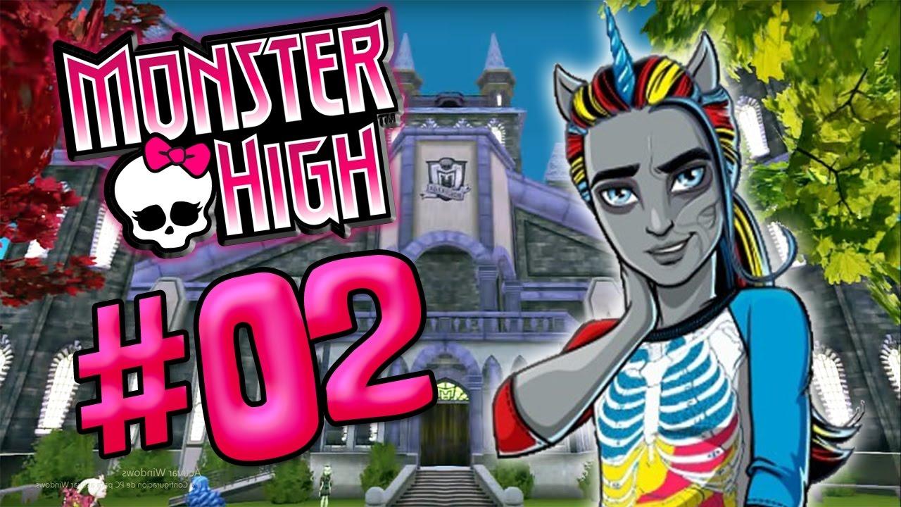 ME ENAMORO DEL CHICO UNICORNIO   MONSTER HIGH  PARTE 2  YouTube