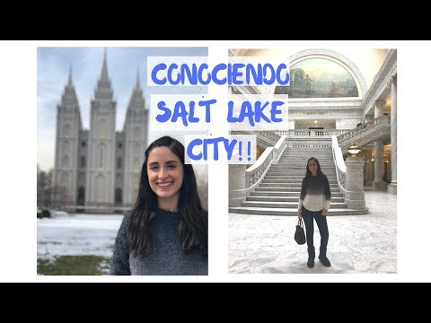 CONOCIENDO SALT LAKE CITY!!