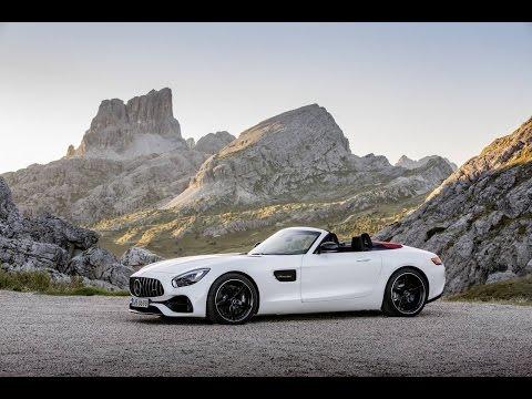 Mercedes AMG GT C Roadster presentée au mondial l