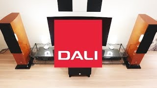 DALI HOME THEATER SETUP TOUR!