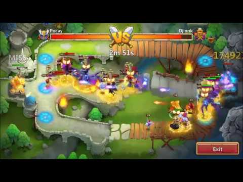 POCAY's Phantom King Goes BERSERK XD Castle Clash