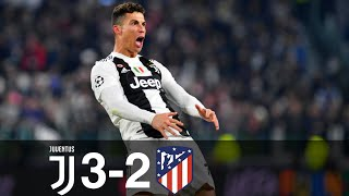 The Day Ronaldo Destroyed Atletico - Juventus vs Atletico Madrid 3-2 All Goals & Highlights 1080p