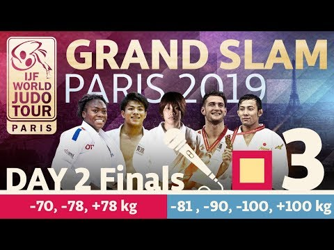 Grand-Slam Paris 2019: Day 2 - Final Block