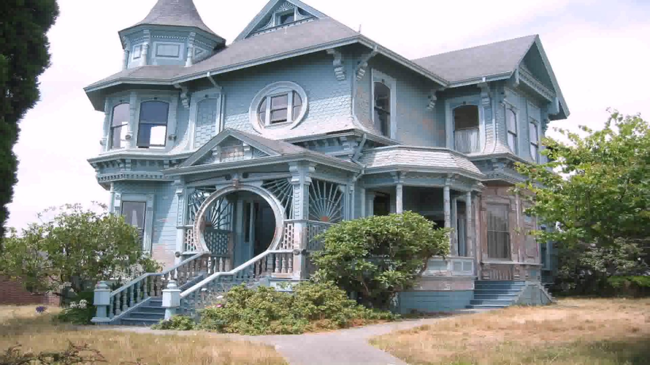 Queen Anne Style House Uk Youtube