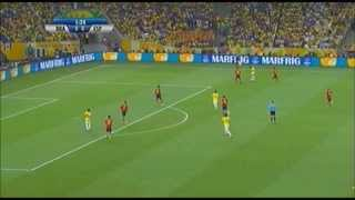 2013 FIFA Confederations Cup: Brazil 3 - 0 Spain (All Goal Highlights)