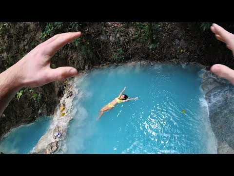 Jumping Into Cebu Waterfalls (So blue!?) | Philippines travel vlog with Avelovinit