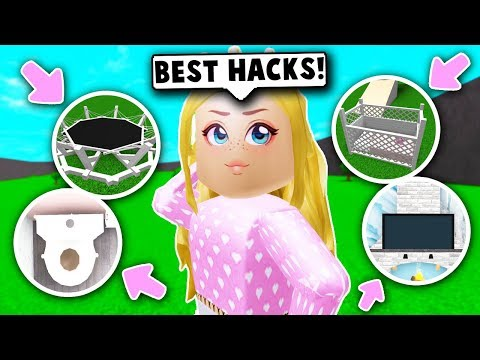 Trying The Best Building Hacks On Bloxburg Roblox