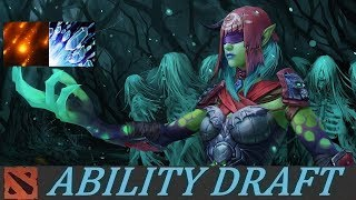 Global Spell Caster Snipes and ULTRA KILL! | Ability Draft Dota 2