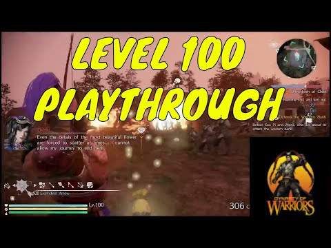 LEVEL 100 SPEEDRUN Chapter 6 Wu Dynasty warriors 9