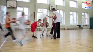 Тренировка баскетбол ЛБА Марьино