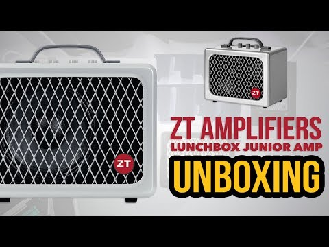 ZT Amplifiers: LUNCHBOX JUNIOR AMP - Unboxing ► Sebastian Mora