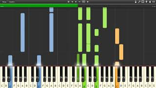 Robbie Williams - Sexed Up - Piano tutorial and cover (Sheets + MIDI)