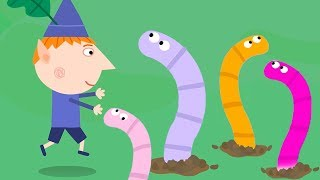 Ben und Holly ' s Little Kingdom | Wurm-Jagd | 1Hour | HD-Cartoons für Kinder