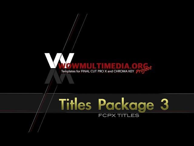 WM Titles Package 3