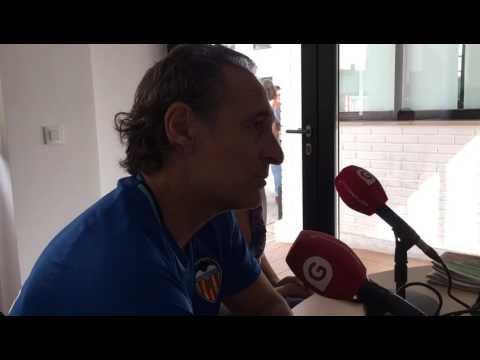Cesare Prandelli habla de la responsabilidad de ser entrenador del Valencia CF