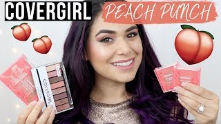 The brand new Covergirl Peach Punch collection just hit Walmart! Th...