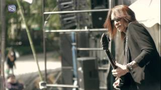 SUGIZO - NO MORE NUKES PLAY THE GUITAR @ Peace On Earth 2014
