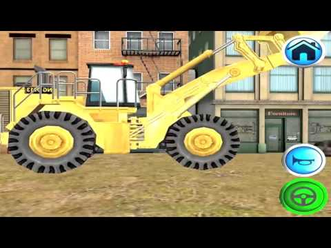 Games picture car loader truck - video for kids