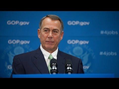 Boehner Discusses Debt Limit, Defunding ObamaCare
